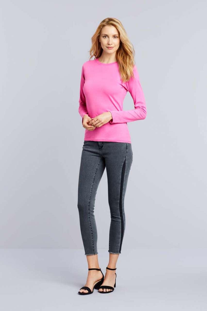 Gildan Női hosszú ujjú póló. Kedvező áron. 956754cfa5