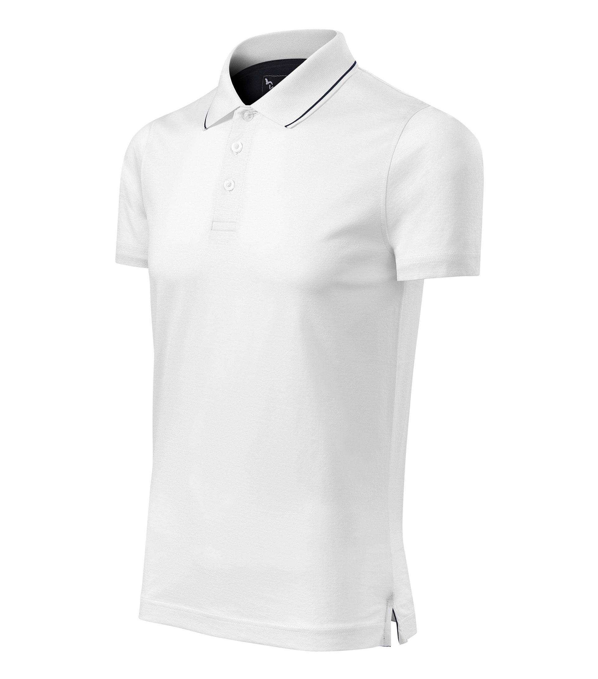 Malfini férfi pólóing mercerizált Grand fehér S 77ad31569e