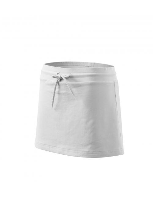 Női szoknya Skirt two in one fehér XS