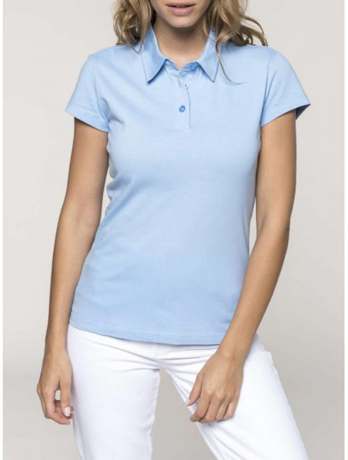 LADIES' SHORT SLEEVE JERSEY POLO