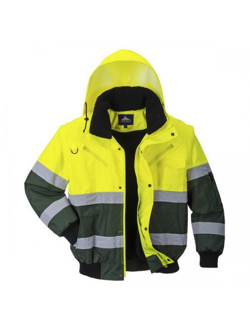 X Hi-Vis Bomber kabát