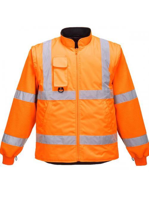Hi-Vis 7-in-1 kabát GO/RT