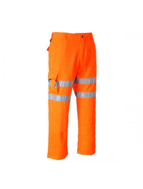 HV-Jól láthatósági nadrág vasúti dolgozók részére
