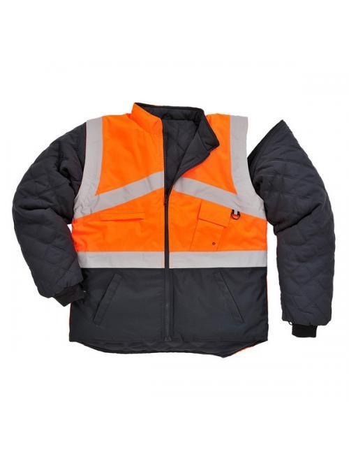Jól láthatósági kifordítható dzseki