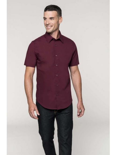 MEN'S SHORT SLEEVE STRETCH SHIRT