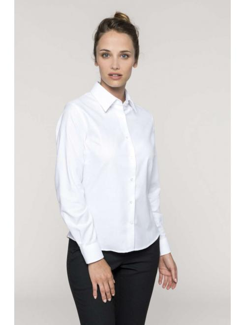 LADIES' LONG SLEEVE EASY CARE OXFORD SHIRT
