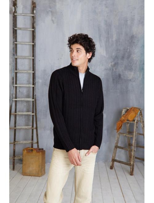TOMMY - MEN'S FULL ZIP CARDIGAN