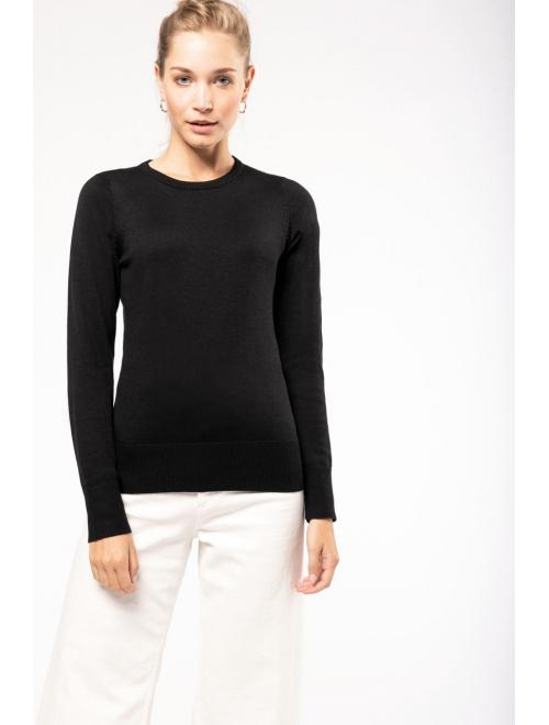 LADIES' ROUND NECK JUMPER