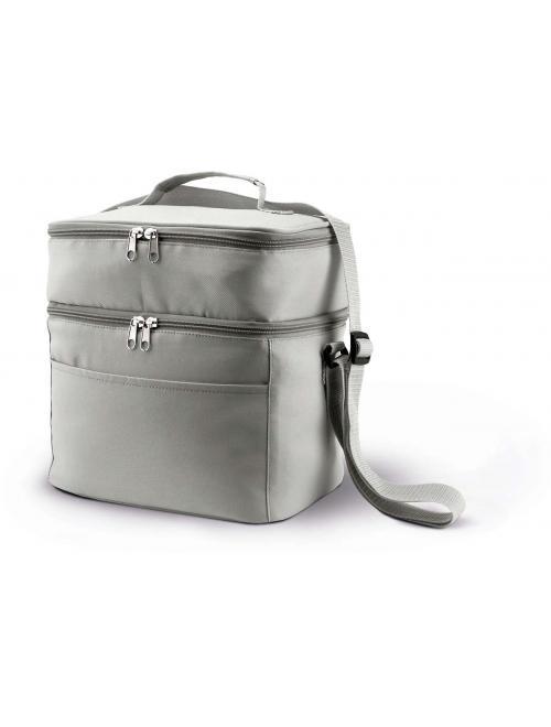 DOUBLE COMPARTMENT COOLER BAG