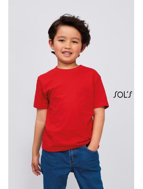 IMPERIAL KIDS' ROUND COLLAR T-SHIRT
