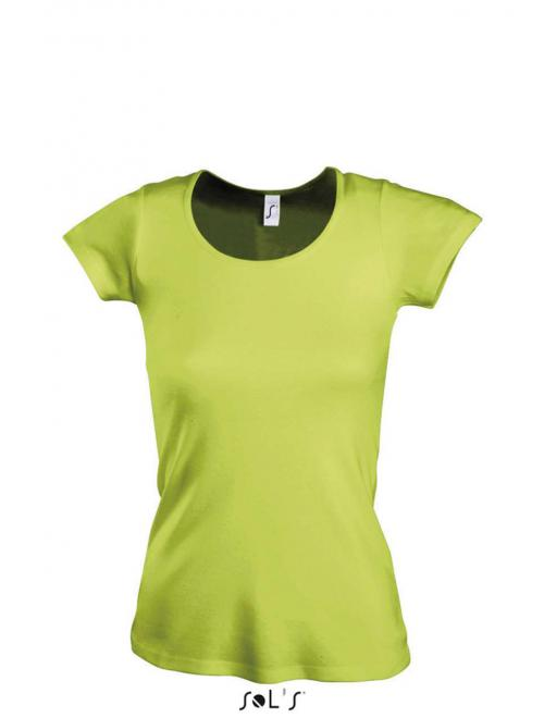 MOODY WOMEN'S ROUND COLLAR T-SHIRT