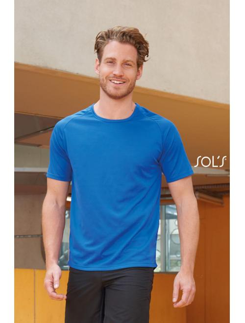 SPORTY RAGLAN SLEEVED T-SHIRTS