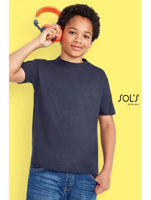 REGENT KIDS' ROUND COLLAR T-SHIRT