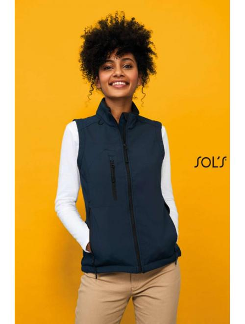 RALLYE WOMEN' SLEEVELESS SOFTSHELL JACKET