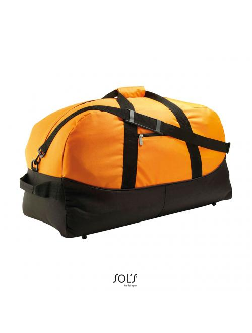 STADIUM 65 TWO-COLOURED 600D POLYESTER TRAVEL/SPORTS BAG
