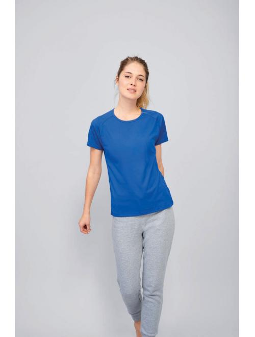 SPORTY WOMEN RAGLAN-SLEEVED T-SHIRT