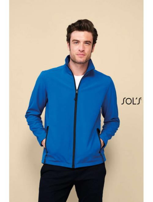 RACE MEN SOFTSHELL ZIP JACKET