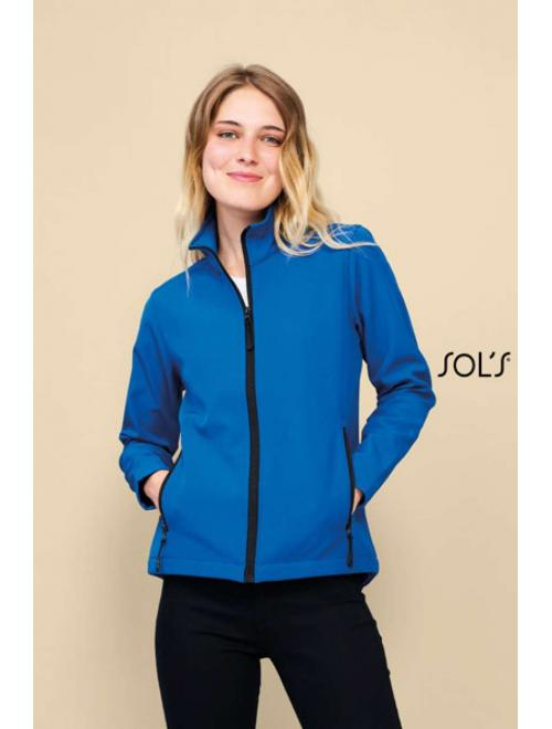 RACE WOMEN SOFTSHELL ZIP JACKET