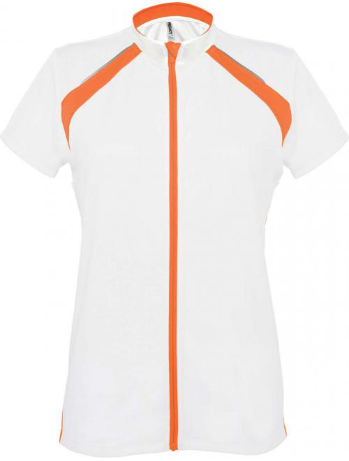 LADIES' SHORT SLEEVE BIKEWEAR TOP