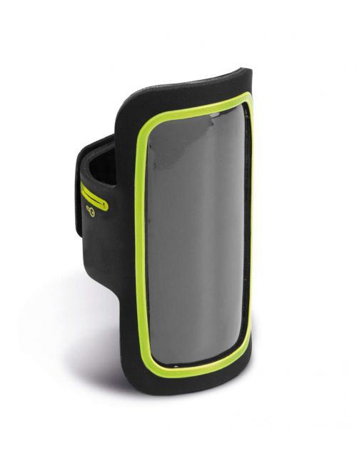 SMARTPHONE ARM-HOLDER WITH COLOURED CONTOUR -telefontartó