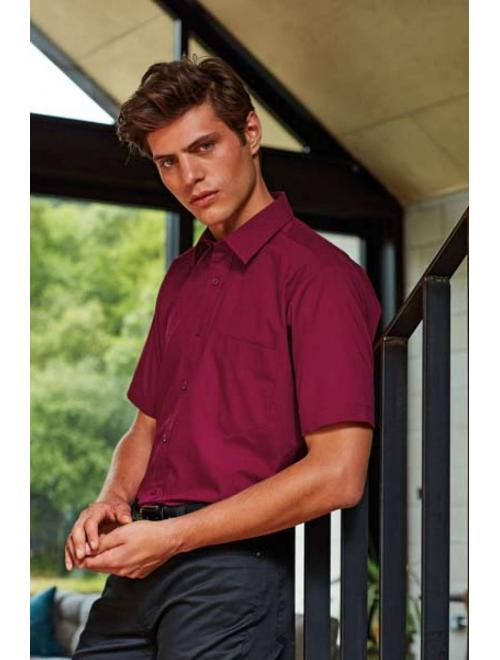 MEN'S SHORT SLEEVE POPLIN SHIRT