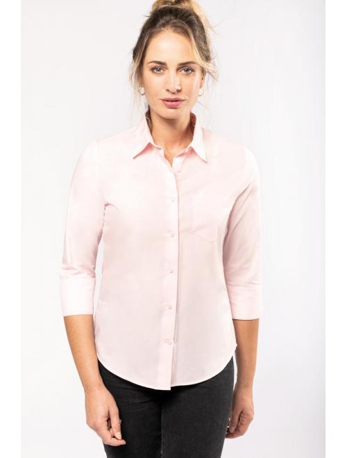 LADIES' 3/4 SLEEVE SHIRT