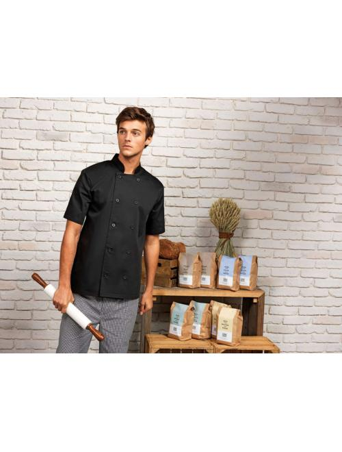 SHORT SLEEVE CHEFS JACKET