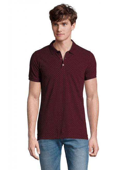 BRANDY MEN POLKA-DOT POLO SHIRT