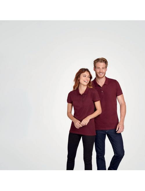 BRANDY WOMEN POLKA-DOT POLO SHIRT