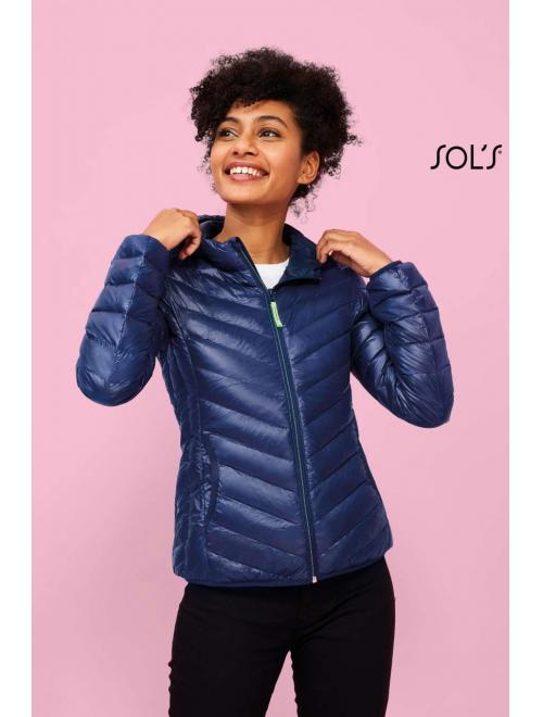 RAY WOMEN LIGHT HOODED PADDED JACKET