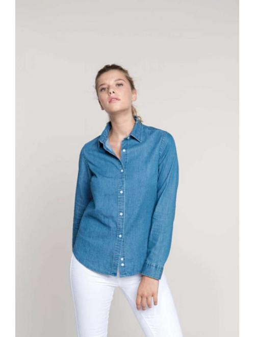 LADIES' CHAMBRAY SHIRT