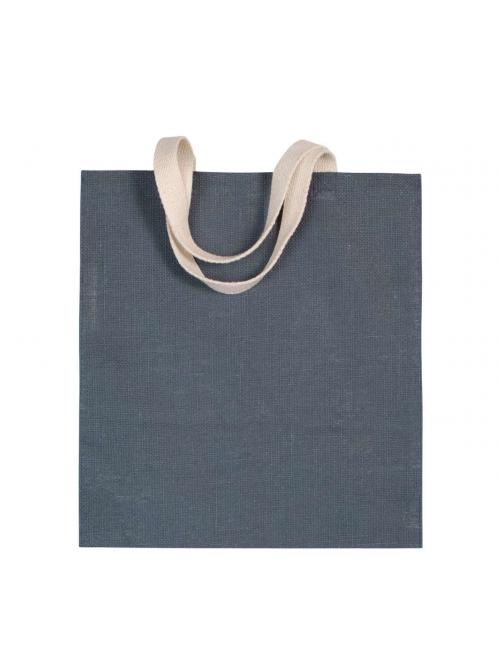 JUTE CANVAS SHOPPING BAG
