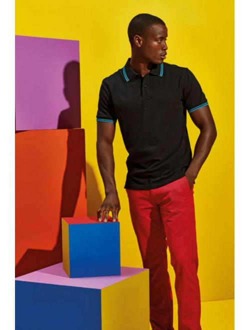 MEN'S CLASSIC FIT TIPPED POLO