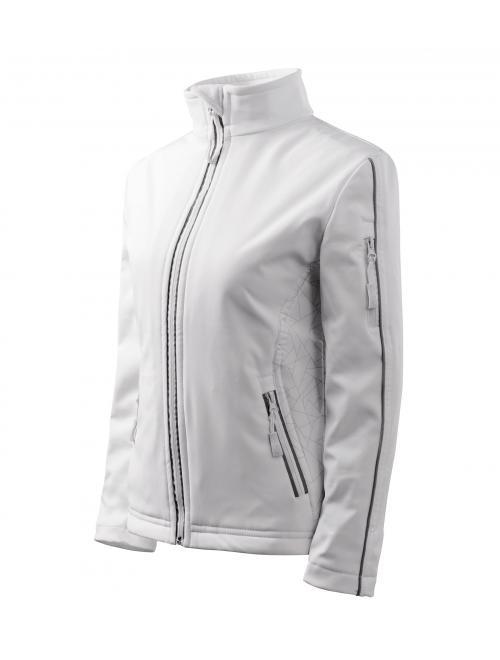 Női dzsekik Softshell Jacket fehér S