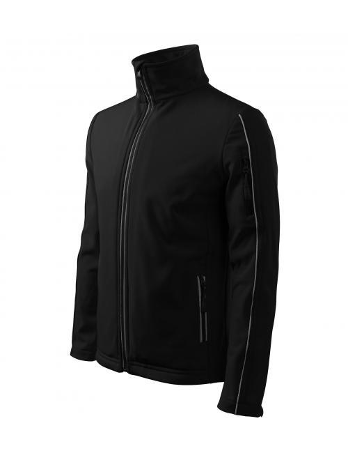 Férfi dzsekik Softshell Jacket fekete M