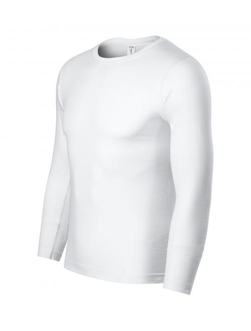 Progress LS unisex póló fehér XS