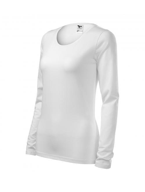 Női Slim póló fehér S