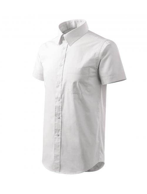 Férfi ing Shirt short sleeve fehér S
