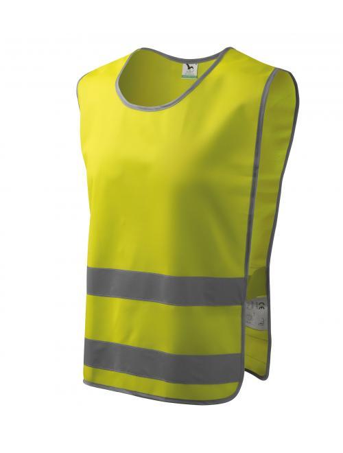 Classic Safety Vest biztonsági mellény fényvisszaverő sárga M