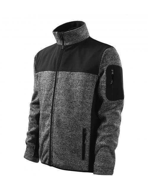 Malfini Softshell Jacket Casual knit gray S