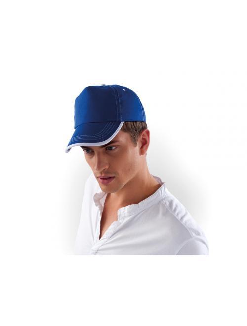 BORNÉO - 5 PANEL BI-COLOUR CAP