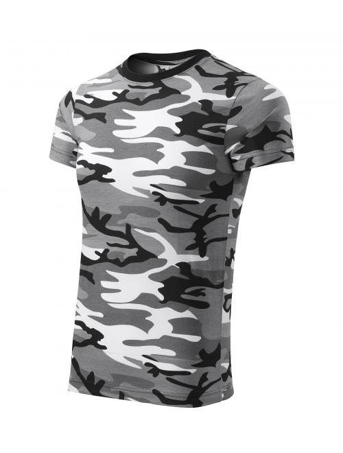 Póló Camouflage terepszín szürke XS