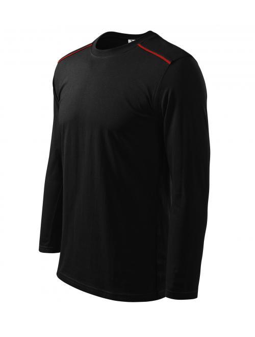 Long Sleeve uniszex póló fekete M