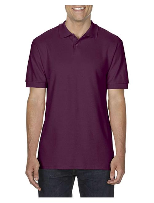 SOFTSTYLE® ADULT DOUBLE PIQUÉ POLO