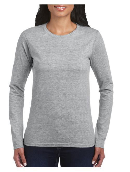 RS Sport Grey Gildan Női hosszú ujjú póló. Kedvező áron. 92b19caf92