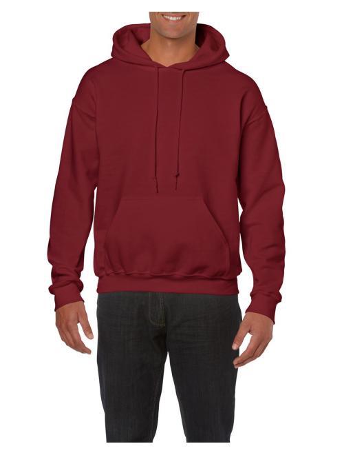 Garnet Gildan pulóver kapucnaval és huzózsinorral 4d4a8ab40e