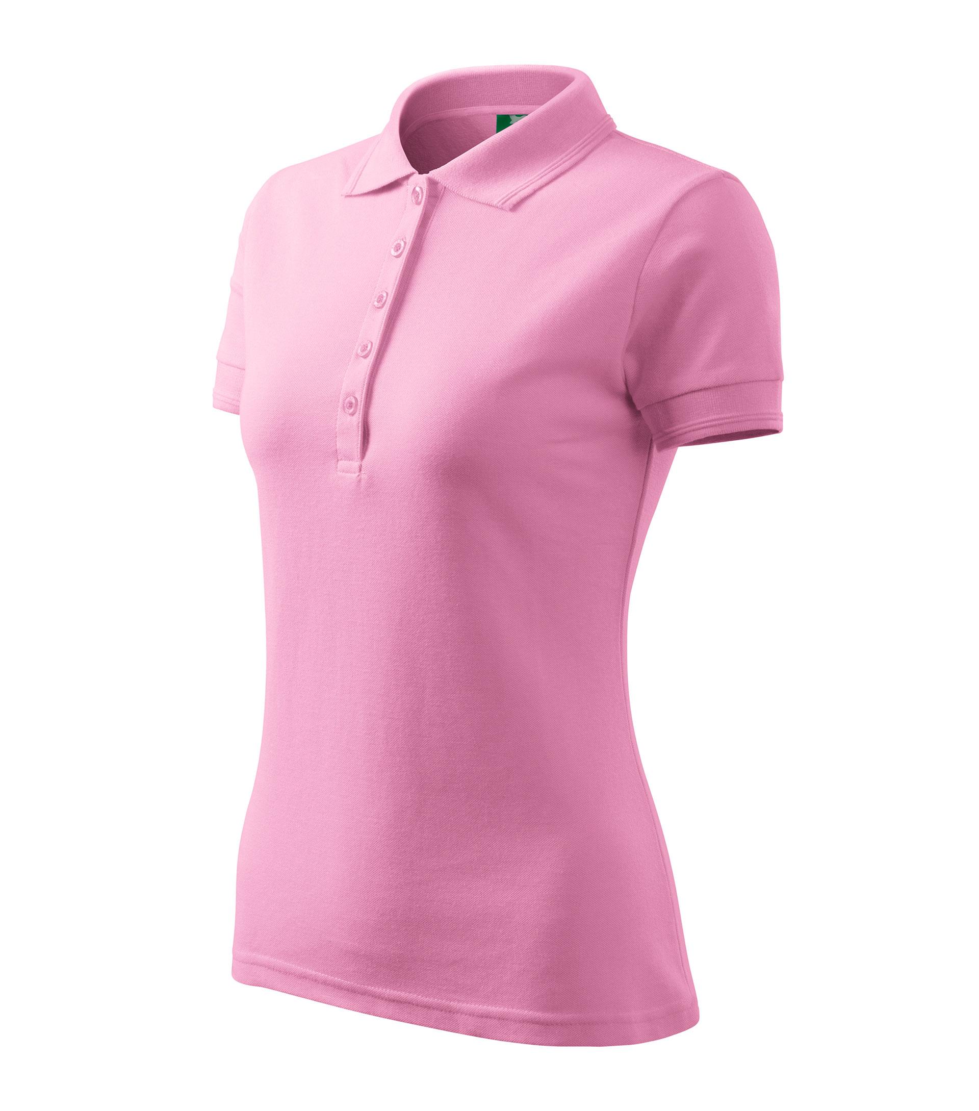 713a87e9d44e Galléros póló női Pique Polo rózsaszín S