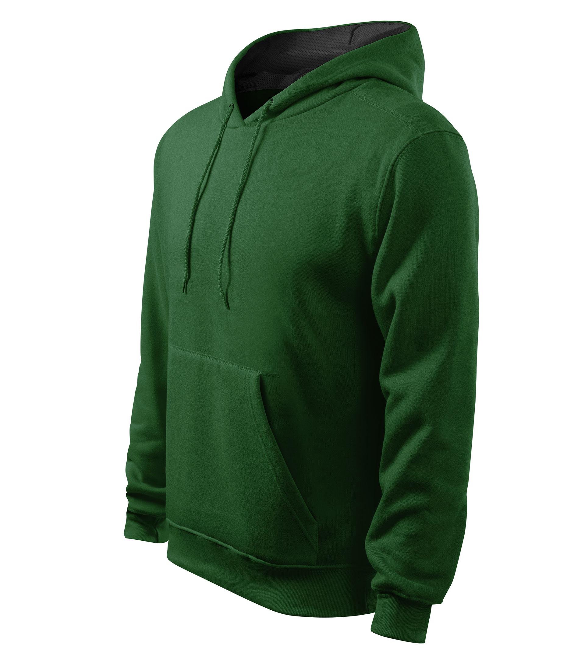 aa6b78d355 Férfi kapucnis pulcsi Hooded Sweater üvegzöld M