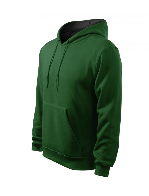 bd50ceac9d Férfi kapucnis pulcsi Hooded Sweater üvegzöld M