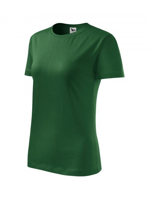 b6552f88f2 Basic póló női üvegzöld XS